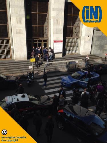 Sparatoria in Tribunale: tre morti, due feriti.